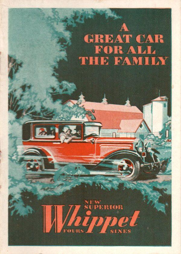 1930 Whippet Original brochure