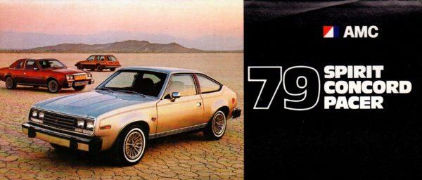 1979 AMC original dealership brochure