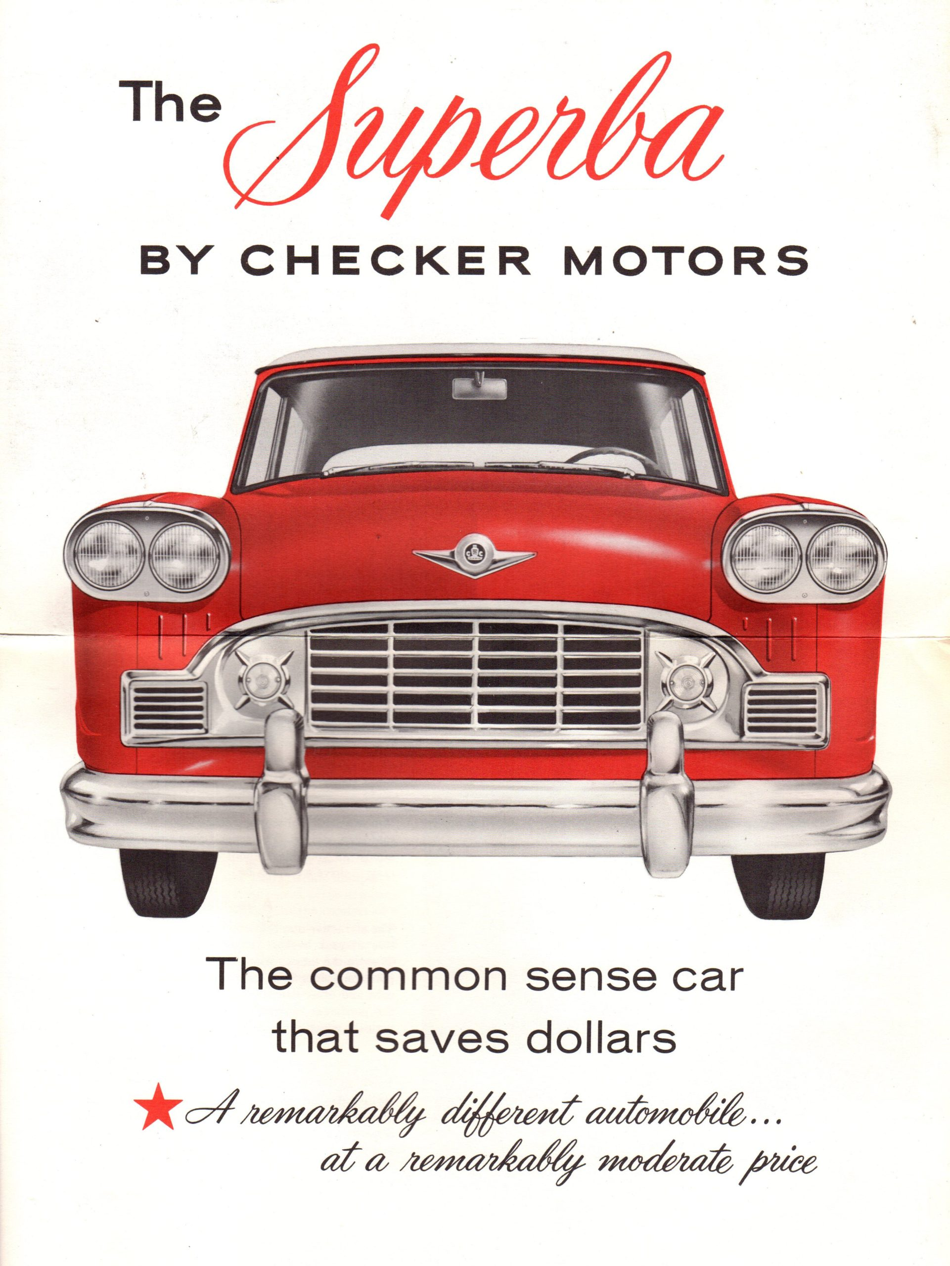 1960 Checker Brochure