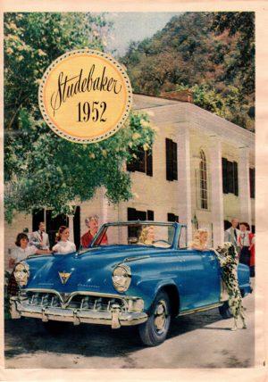 1952 Studebaker Brochure
