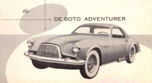 1953 DeSoto Adventurer Brochure