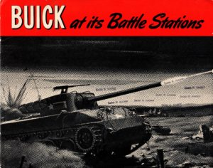 1944 WWII Buick Tank Brochure